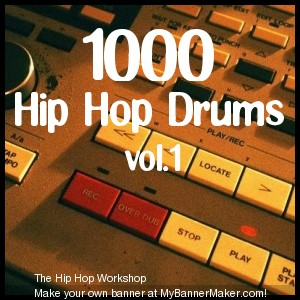 Product picture 1000 Hip Hop Drums vol.1