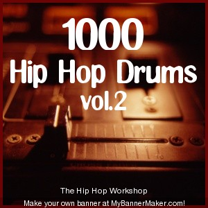 Product picture 1000 Hip Hop Drums vol.2