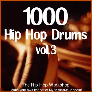 Product picture 1000 Hip Hop Drums vol.3