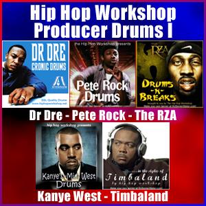 Product picture Hip Hop Workshop Producer Drums I